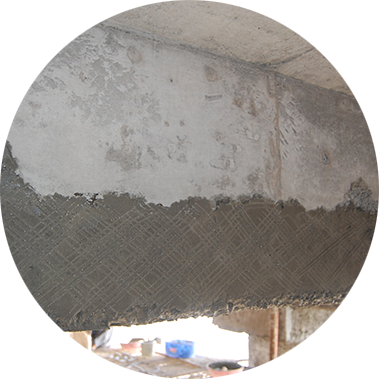 chowgule constructions chemicals concrete repair and rehabilitation thickness built up in single layer