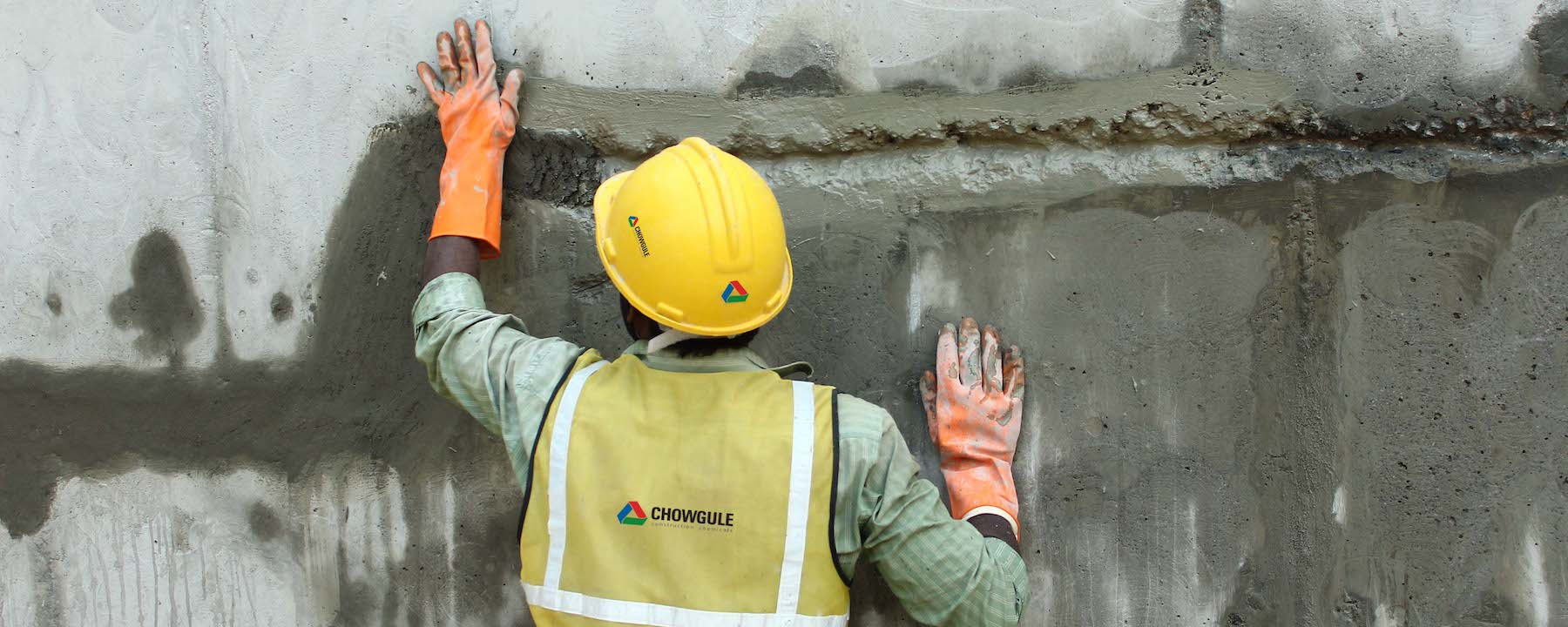 chowgule construction chemicals trusted name in the waterproofing industry
